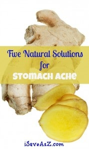 Five Natural Solutions for Stomach Ache