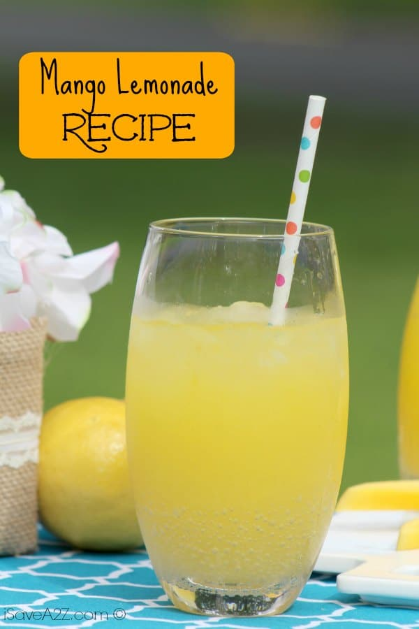 Mango Lemonade Recipe Isavea2z Com