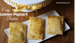 Easy Lemon Poptart Pastries
