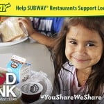 SUBWAY® Joins Forces with Local Charities in San Antonio Texas