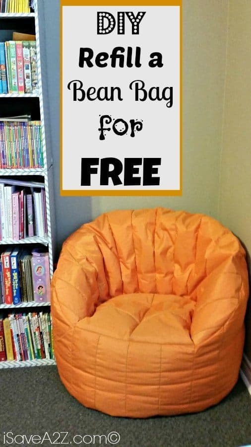 Refill A Bean Bag For Free Simple Diy Project