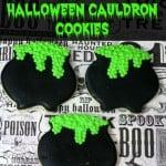Halloween Cauldron Cookies