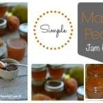 Easy Mango Peach Jam Recipe