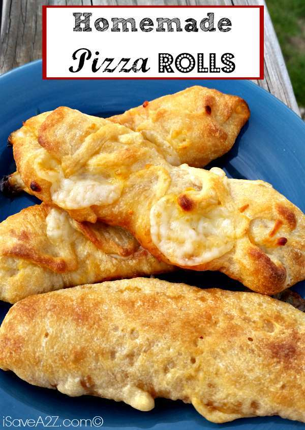 Homemade Pizza Rolls! Quick, Easy and Kid Approved!