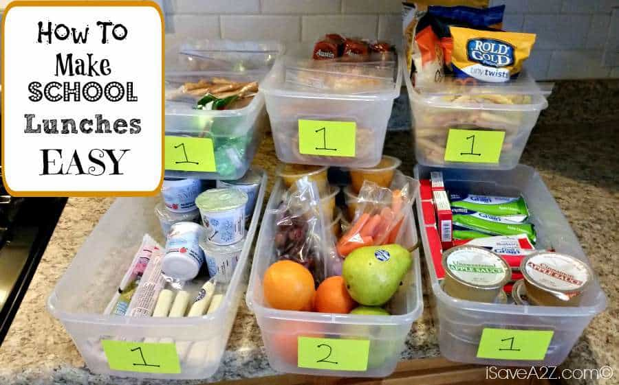 8 Easy School Lunches (Healthy & Kid-Friendly) that are perfect for picky-eaters. Best of all, tons of ideas for nut-free, dairy-free and gluten free options.