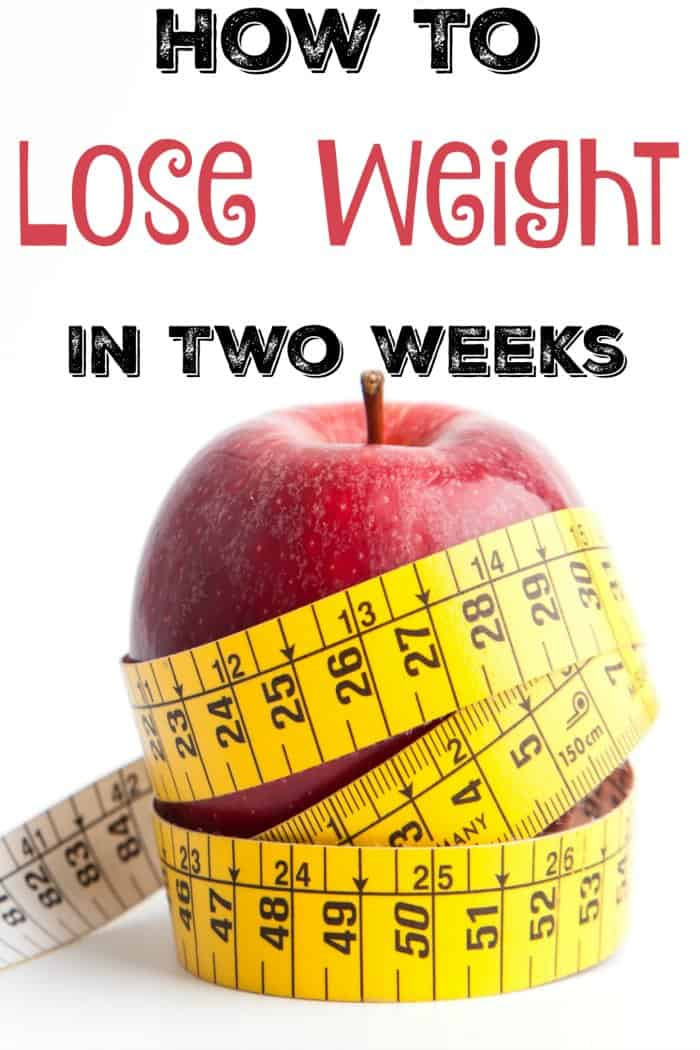 Diet to lose weight fast in two weeks