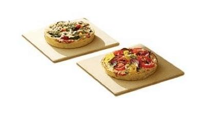 Pizza Cordierite Grill Stone Set