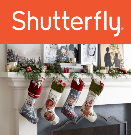 Shutterfly's Holiday STockings