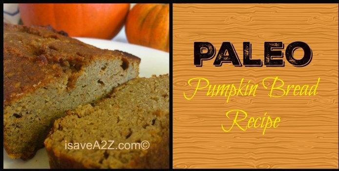 Paleo Pumpkin Bread Recipe - iSaveA2Z.com