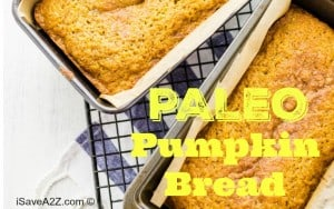 Paleo Pumpkin Bread Recipe
