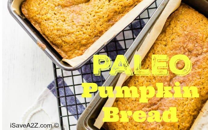 Paleo Pumpkin Bread Recipe