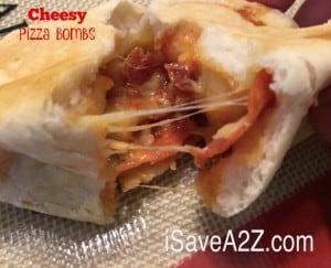 Easy Cheesy Pizza Bombs