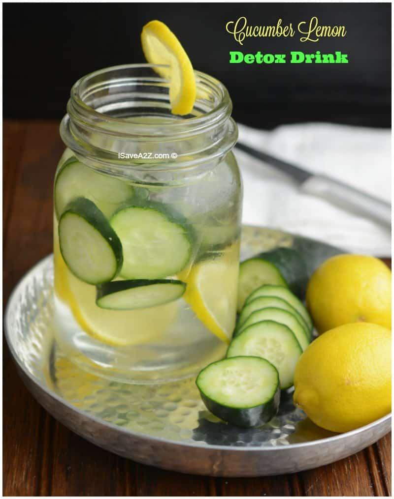 Cucumber Lemon Detox Water Drink Isavea2z Com