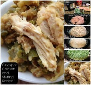 Crockpot Chicken and Stuffing Recipe