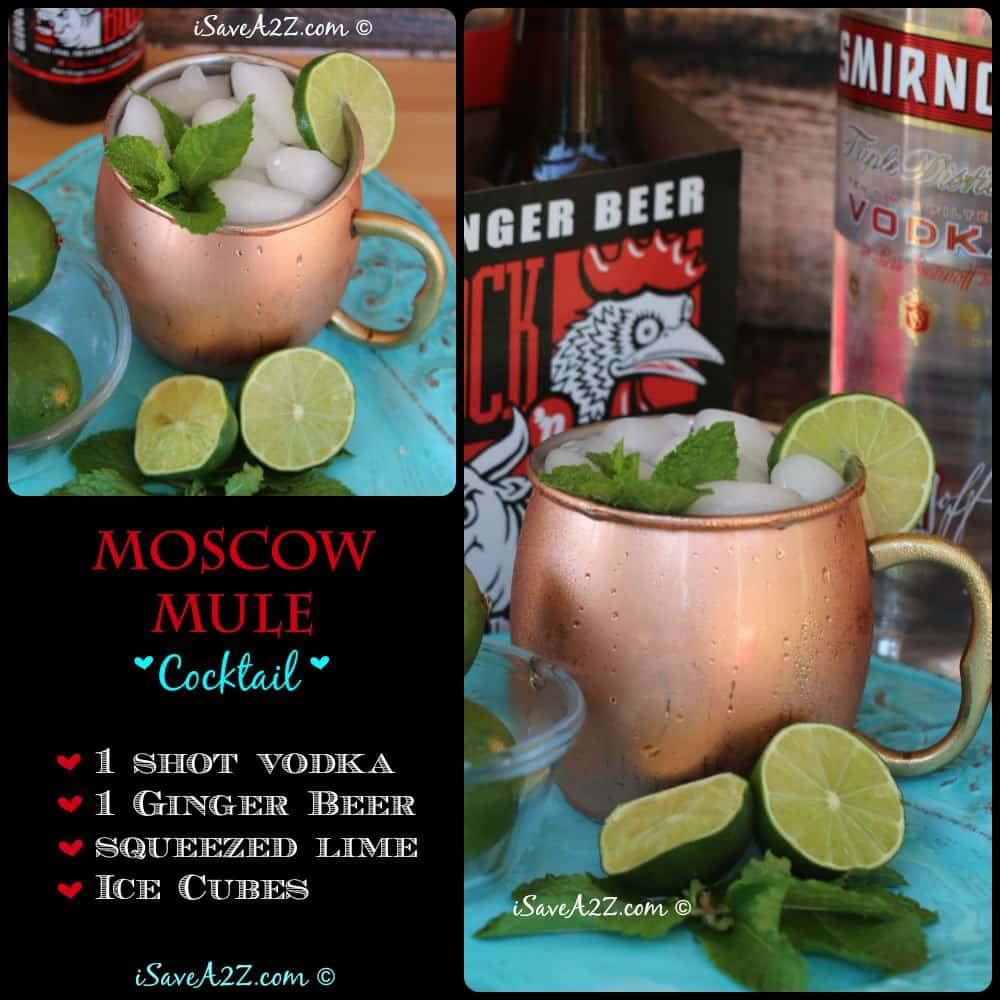 Moscow Mule Mugs And A Few Drink Variations