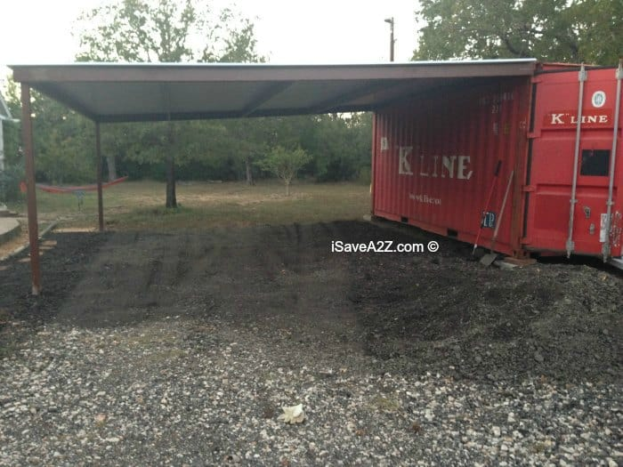 Shipping Container Carport And Storage Idea Isavea2z Com