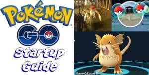 Pokemon GO Startup Guide