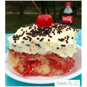 Cherry Vanilla Coke Poke Cake Recipe