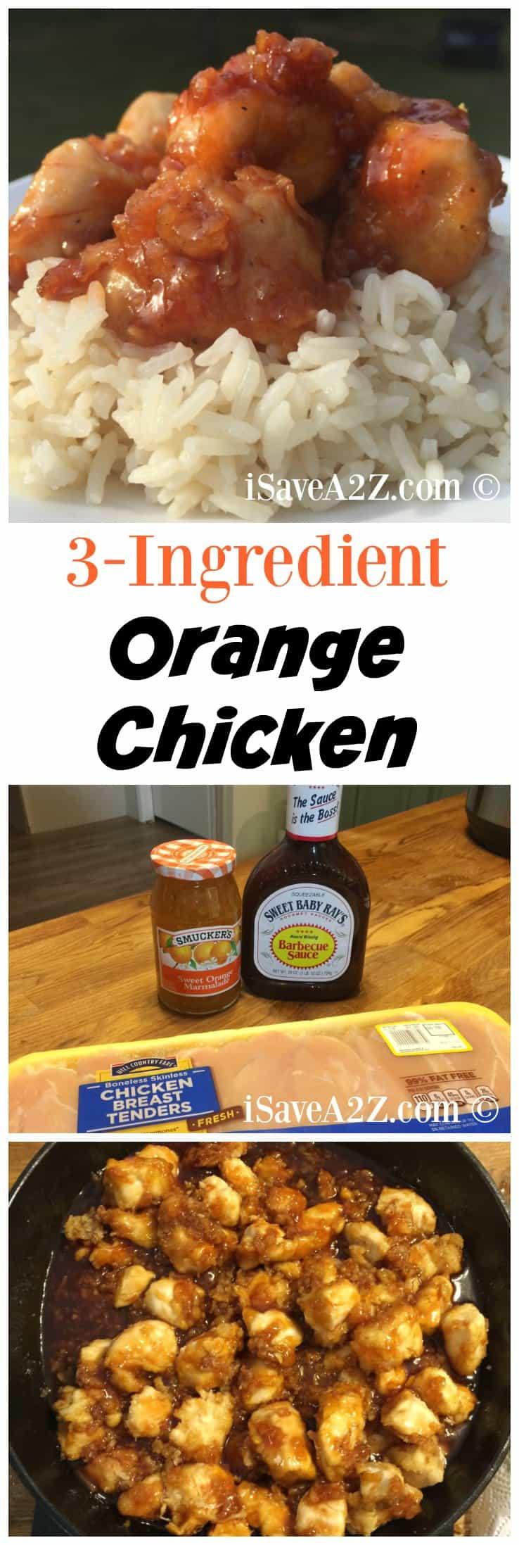 how to make orange chicken with orange sauce