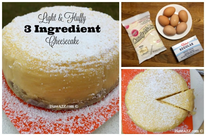 Recipe Light Fluffy Plain Cake: 3 Ingredient Japanese Cheesecake Made In The Pressure