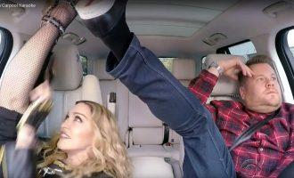 OMG!  Madonna Carpool Karaoke Just Happened!