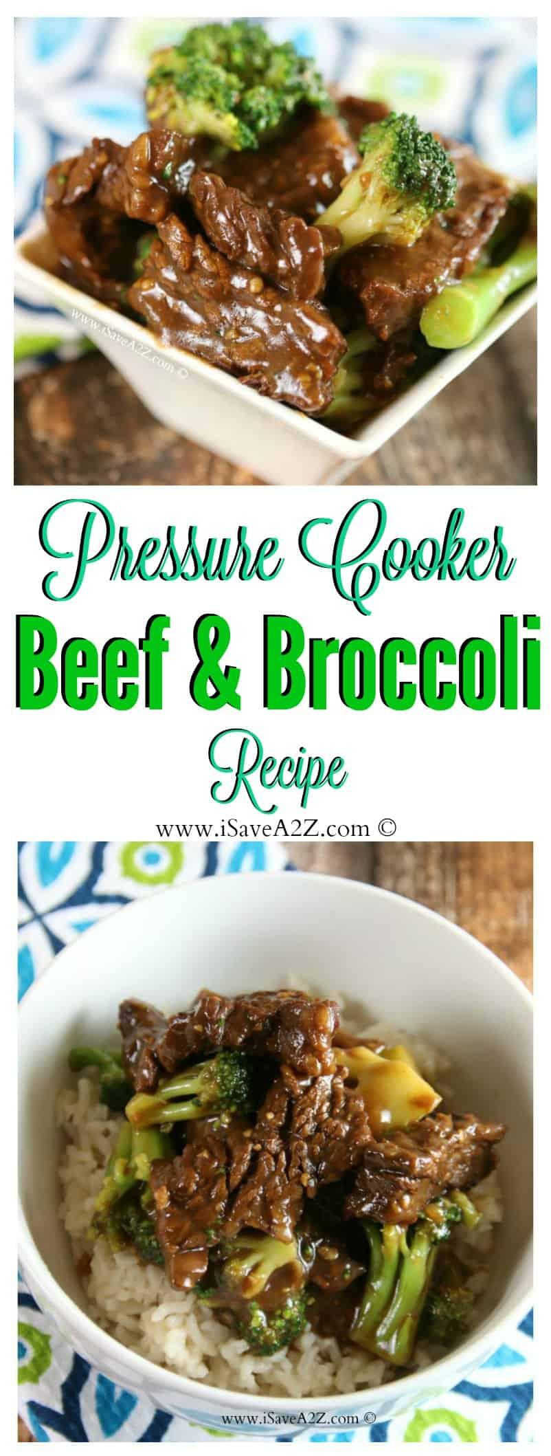 Easy Pressure Cooker Beef and Broccoli Recipe