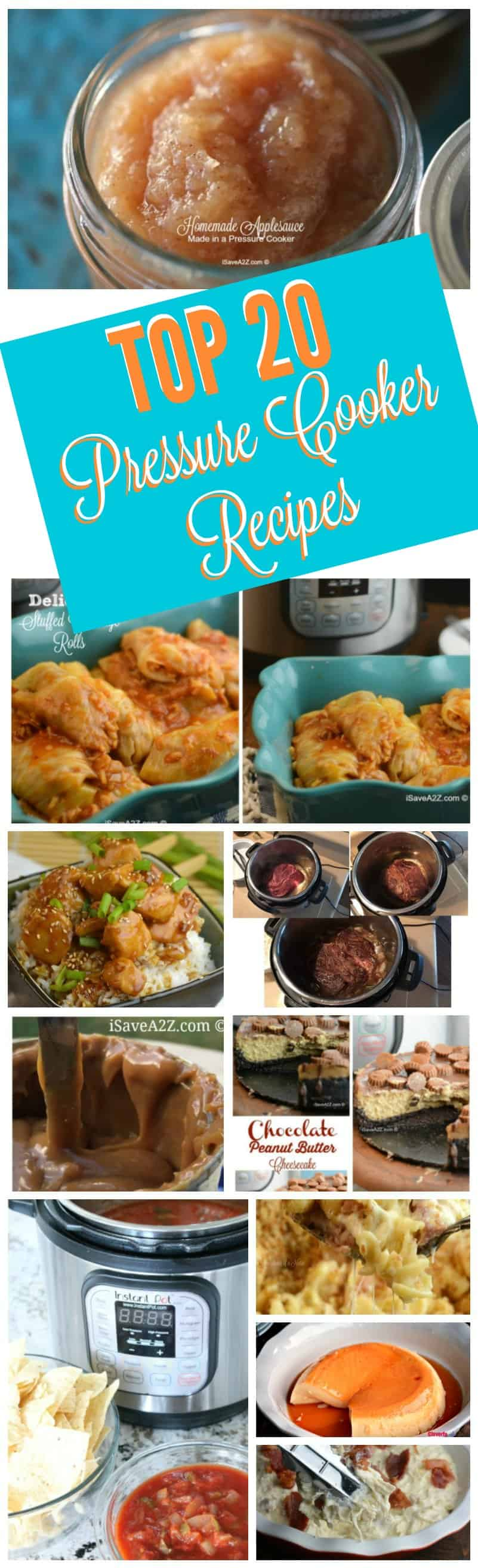 Top 20 Really Good Pressure Cooker Recipes