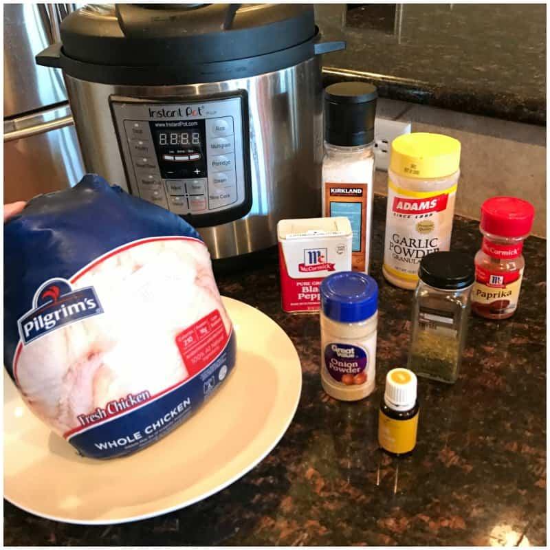 Rotisserie Chicken Pressure Cooker Recipe