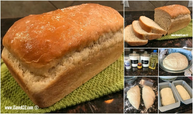 Homemade Amish Sweet Bread Recipe with Step by Step Instructions