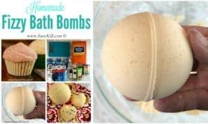 Homemade Fizzy Bath Bombs Recipe Ingredients