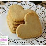 Low Carb Shortbread Cookies – Keto Friendly Recipe