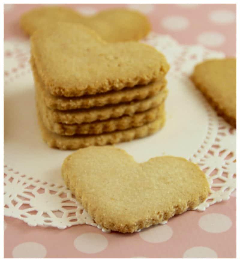 Low Carb Shortbread Cookies