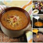 Easy Bacon Cheeseburger Soup (Keto Friendly Recipe)